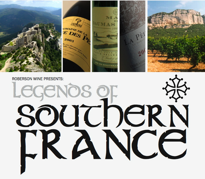 Roberson Wine Merchant's 'Legends of Southern France' Tasting report in Decanter Magazine