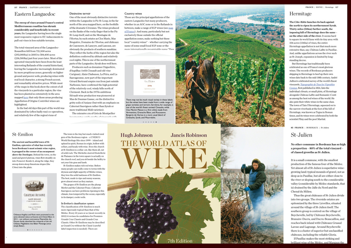 La Pèira in the The World Atlas of Wine, 7th Edition by Hugh Johnson and Jancis Robinson La Peira