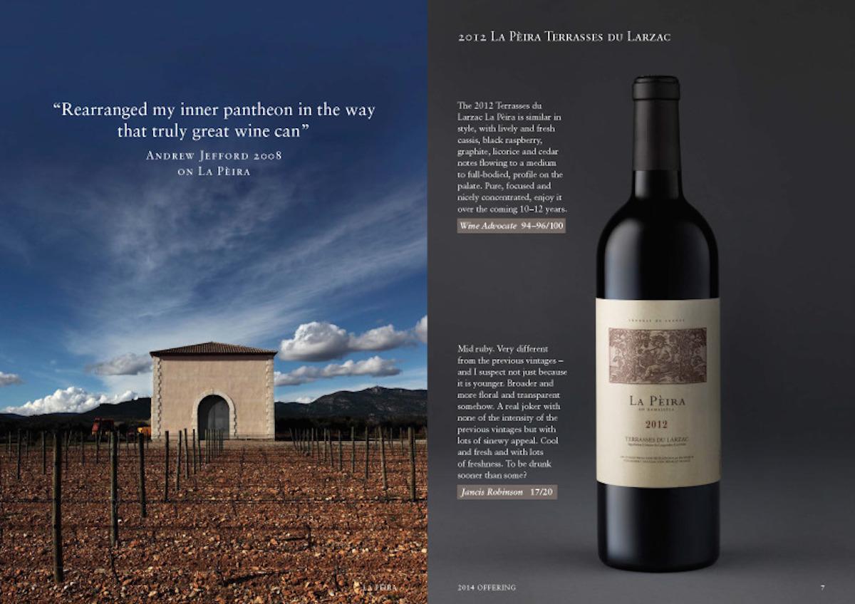 A Look at La Peira's 2012-2013 offering La Peira